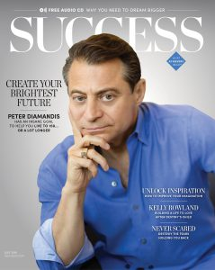 Dr. Peter Diamandis Success Cover